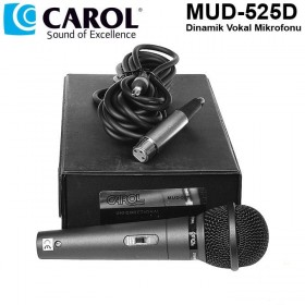 CAROL MUD-525D Dinamik Vokal Mikrofonu