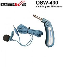Osawa OSW-430 Kablolu Yaka Mikrofonu