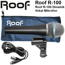Roof R-100 Dinamik Vokal Mikrofon