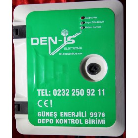 Güneş Enerjili Su Depo-Pompa Kontrol Sistemi