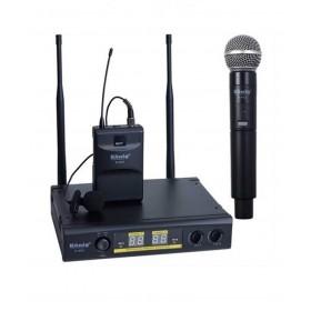König K-402 EL+Yaka 2-Kanal UHF Telsiz Mikrofon