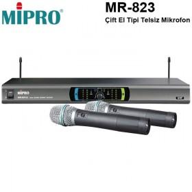 Mipro MR-823 Çift El Telsiz Mikrofon