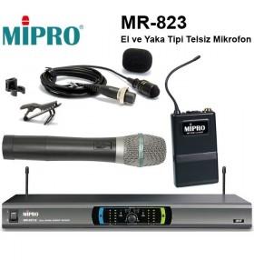Mipro MR-823 El Ve Yaka Telsiz Mikrofon